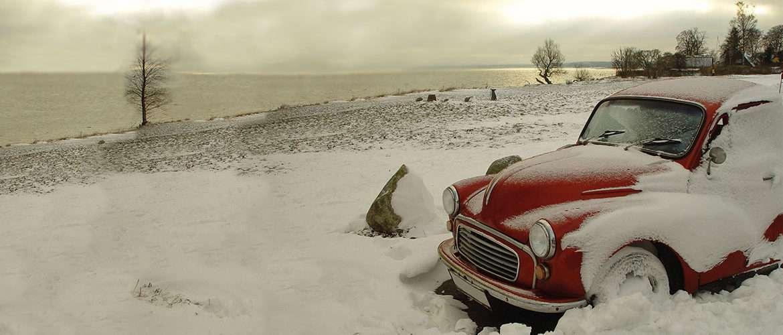 Come preservare la tua auto d'epoca durante l'inverno