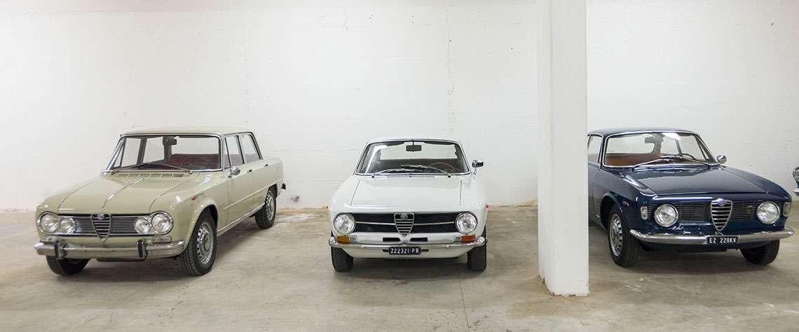 Vida Motors Auto d'epoca Bianca