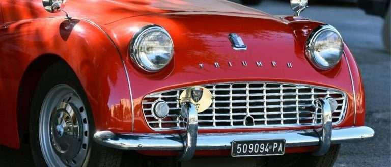 targhe auto d'epoca